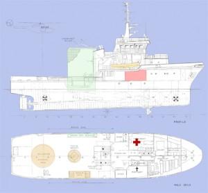 GA-Rettungsschiff